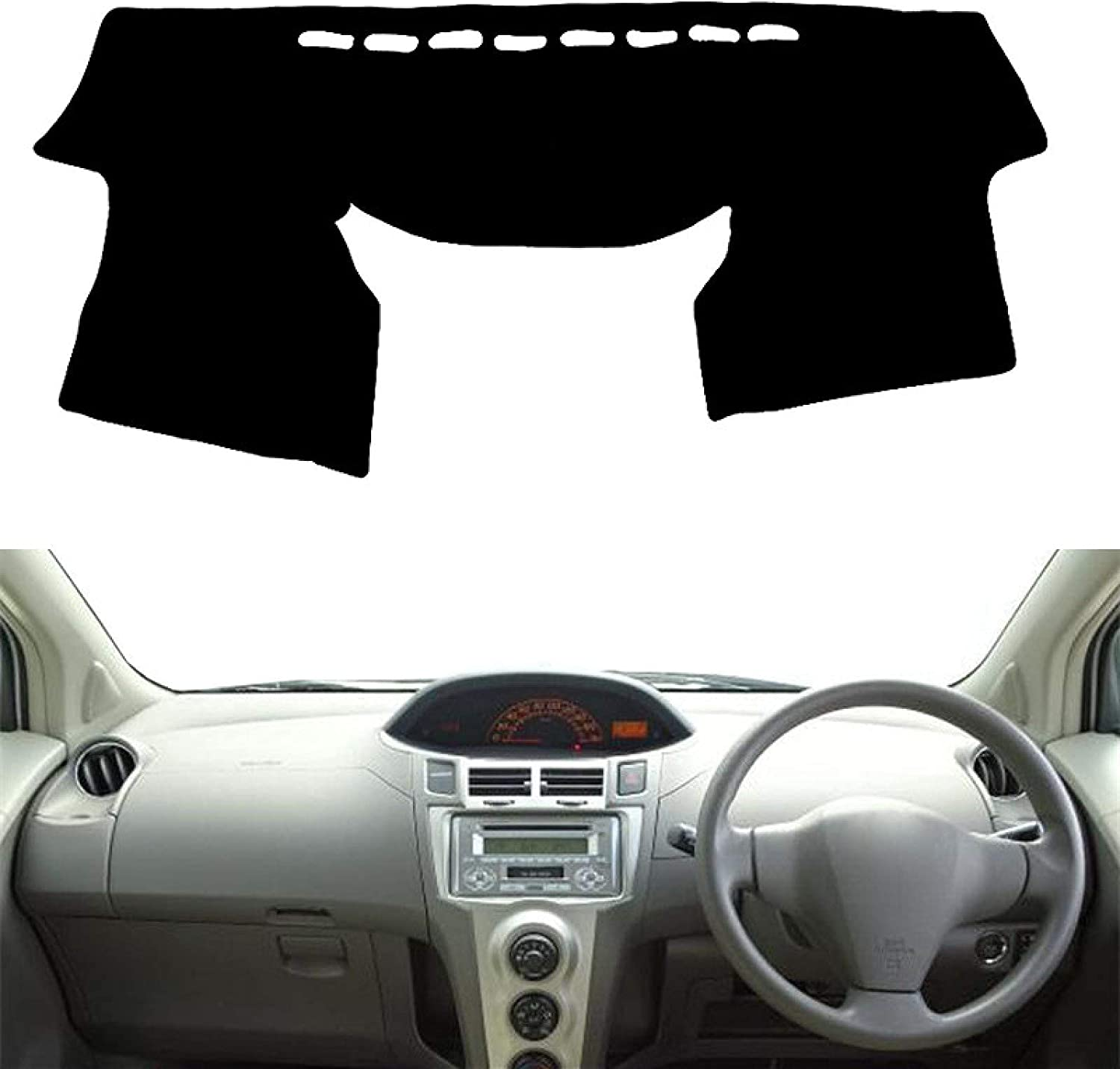Dashboard Safety Directly managed store and trust Cover for Toyota Vitz Charade Daihatsu Yaris 2005-2011