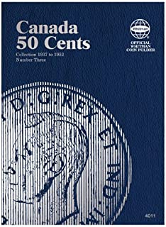Canada 50 Cents Collection 1937 to 1952, Number Three (Official Whitman Coin Folder)