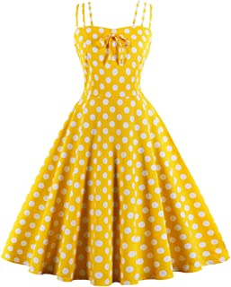 yellow and white dots