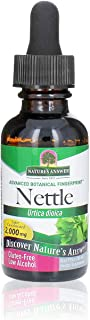 Nature's Answer Nettle Leaf with Organic Low Alcohol 1 Fluid Ounce | Herbal Supplement | Helps Promote Immune Health | Non...