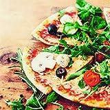 20 Servietten Genuss von Pizza als Tischdeko 33x33cm