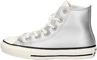 scarpe donna converse argento