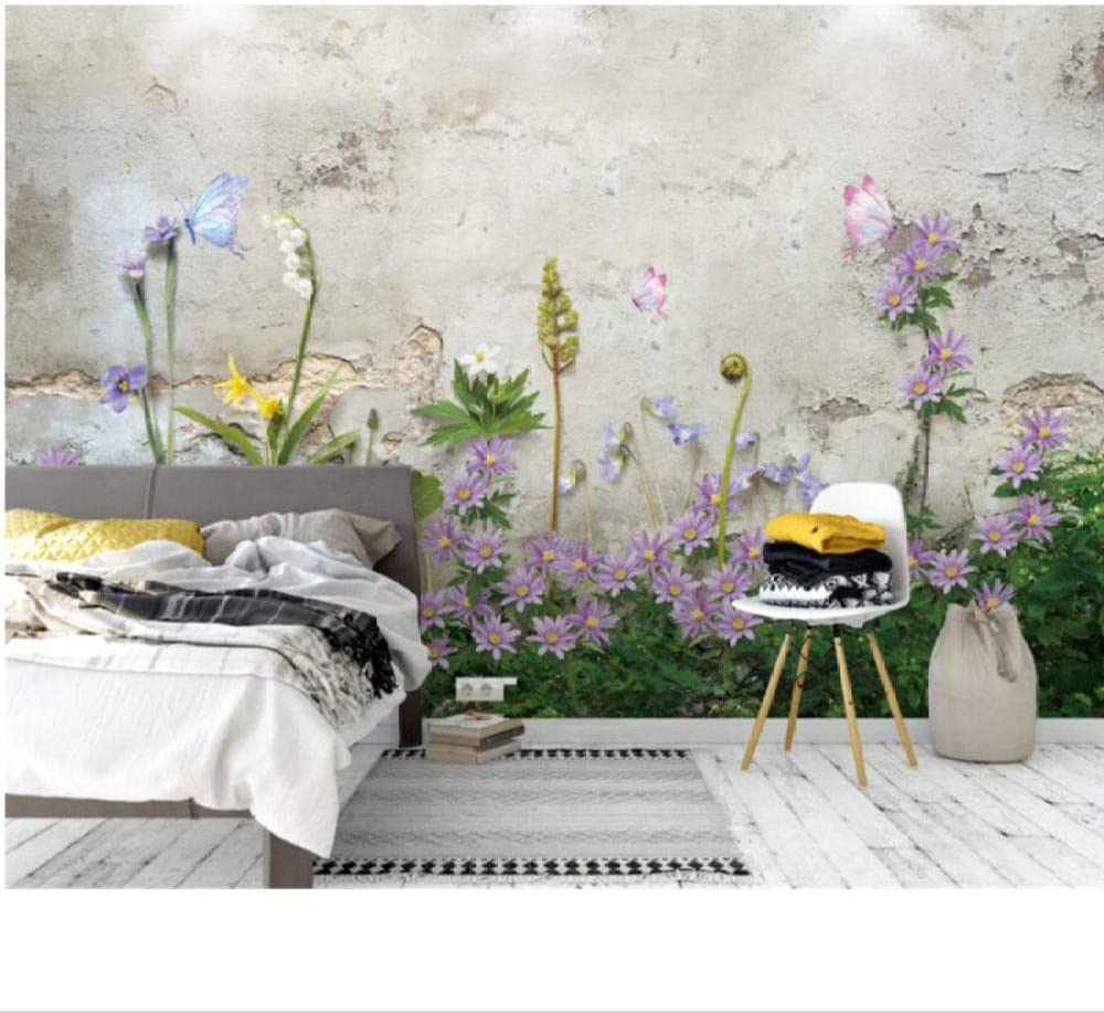 Zjxxm 3D Wallpaper Hand Painted Living Plant Hd Painting Direct sale Baltimore Mall of manufacturer Floral