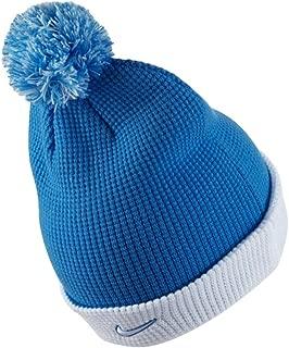 2017-2018 Man City Bobble Hat (Blue)