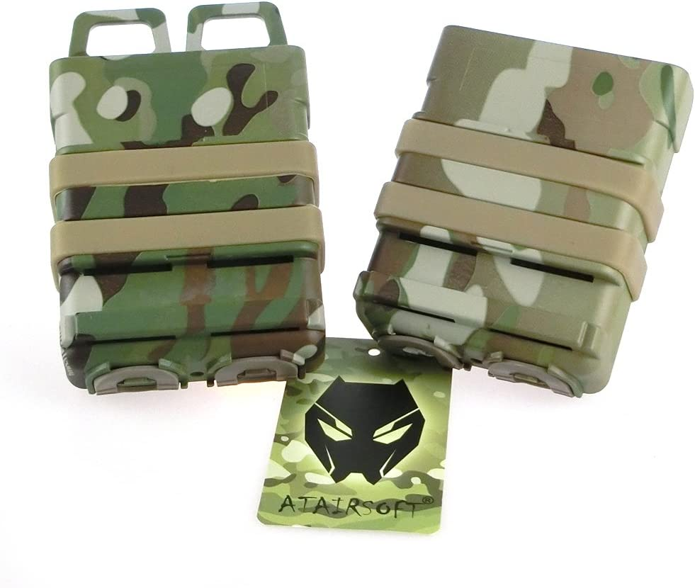 ATAIRSOFT Tactical FastMag Molle Pouch Double 5.56 Magazine Hols