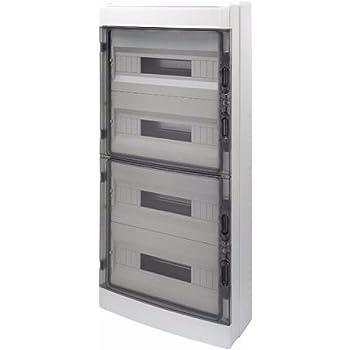 Gewiss GW40109 Caja eléctrica - Caja para Cuadro eléctrico: Amazon.es: Bricolaje y herramientas