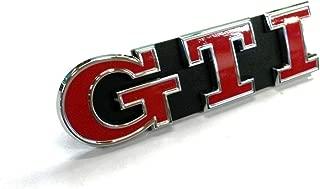 GenuineVW Golf Mk7 2013- GTI Front Grille Badge Satin Black Emblem