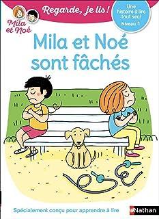 Regarde, je lis ! - Une histoire à lire tout seul - Mila et Noé sont fâchés - Niveau 1 (35)