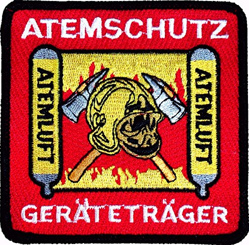 Atemschutzgeräteträger - Stickabzeichen Feuerwehr
