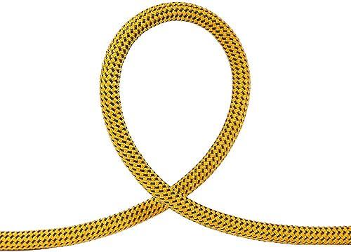 ANHPI Rock Escalade Corde Corde Statique Extérieure Sécurité Vitesse Chute Corde Corde Sauvetage équipement,jaune-10  12mm