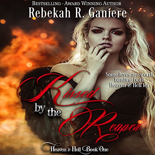 Kissed by the Reaper audiobook cover art