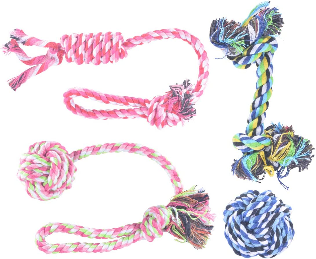 lowest price Rachel Pet Products Dog Rope Teething Memphis Mall Toys T Puppy Chew