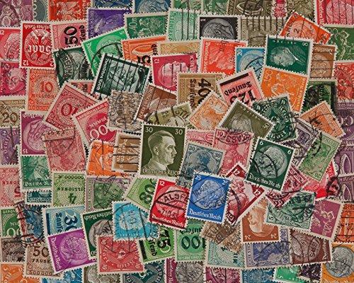 Goldhahn 100 DR 1872-1945 ohne Gebiete Briefmarken für Sammler