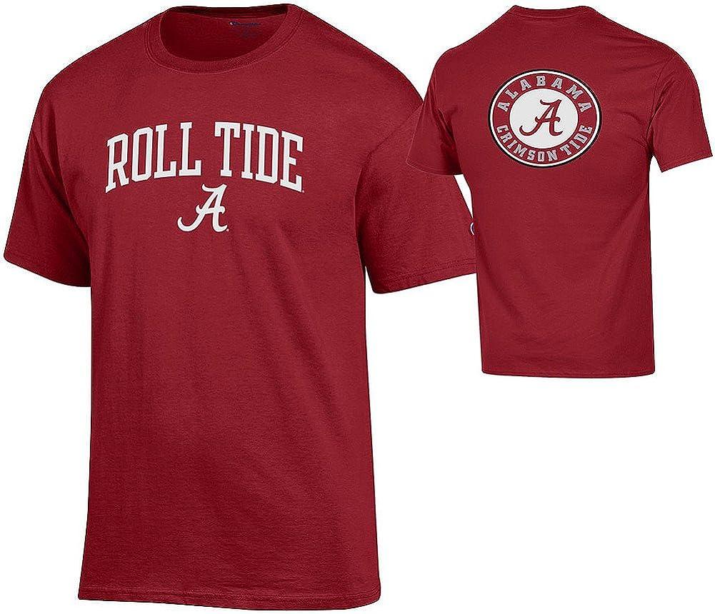 Elite Fan Shop NCAA Mens Front//Back Team Tshirt