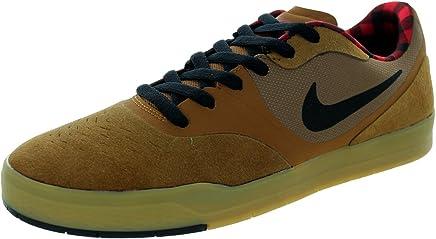 new concept 7fcc9 7727a NIKE Mens Paul Rodriguez 9 CS Ale Brown Black Gym red Skateboarding Shoes 8