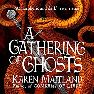 A Gathering of Ghosts                   By:                                                                                                                                 Karen Maitland                               Narrated by:                                                                                                                                 Jonathan Keeble                      Length: 13 hrs and 58 mins     107 ratings     Overall 4.3