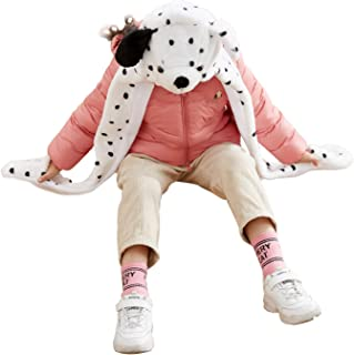 Funnie Dalmatian Bolt Animal Hats Gloves Scarf 3 in 1 Set Hood Toy