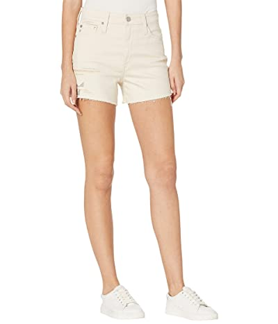 AG Adriano Goldschmied Alexxis Vintage High-Rise Shorts in Cabrillo Embroidered