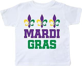 inktastic Mardi Gras Fleur De Lis Trio Toddler T-Shirt