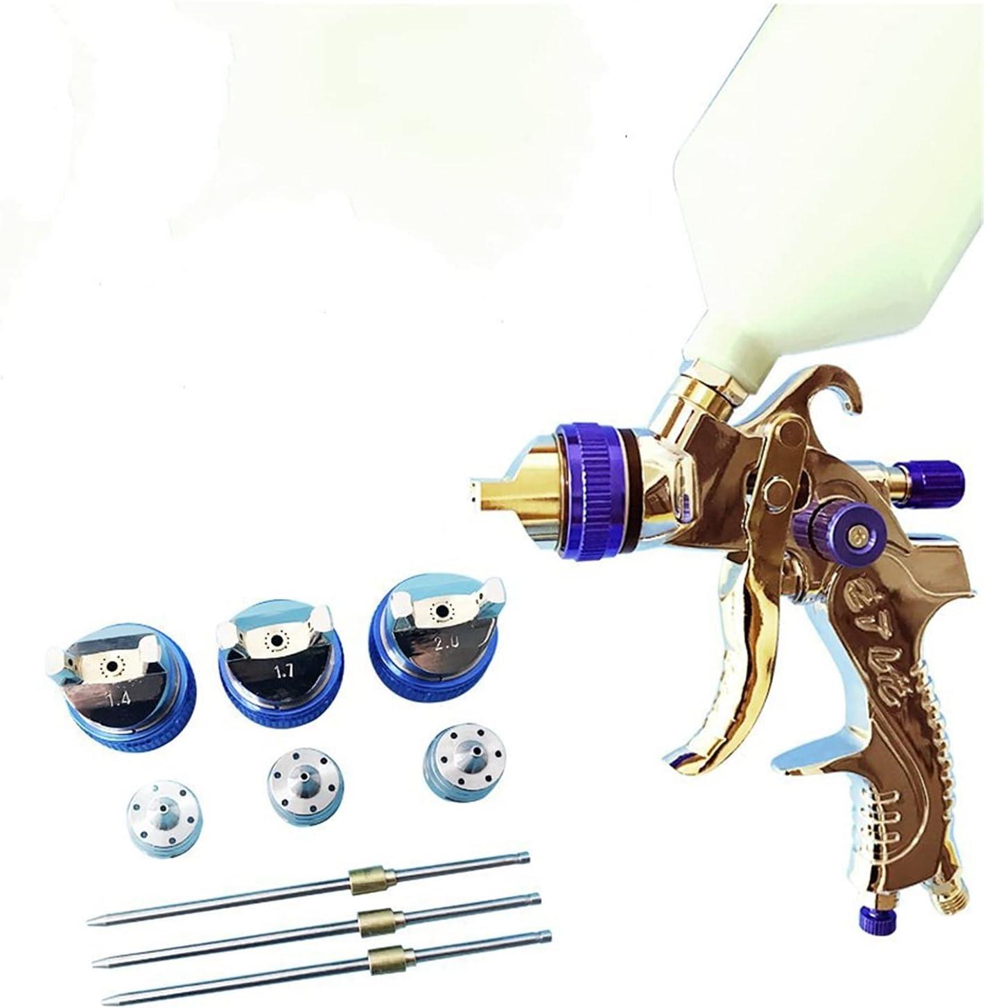 Safety and trust Spray Atlanta Mall Gun Paint Sprayer 1.4mm 1.7mm G2008 Nozzle 2.0mm Steel HVL