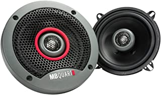 "$23 » MB Quart FKB113 Formula Series 2-Way Coaxial Speakers (5.25""), Gray (Renewed)"