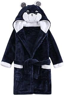 f3bdd01c1 Bebé Albornoz con Capucha Niños Niñas Pijama Ropa de Dormir 3-4 Años