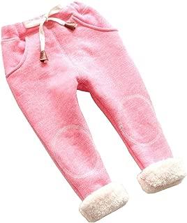 Toddler Baby Girl Boy Fleece Velvet Leggings Kids Newborn Cute Warm Pants Children Thicken Trousers Clothes