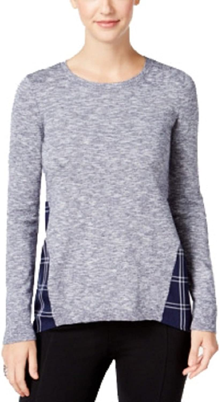 G.H. Bass & Co. PlaidTrim Sweater