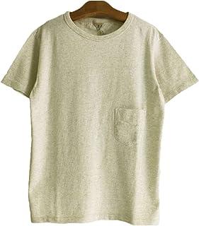FilMelange (フィルメランジェ) DIZZY ディジー オーガニックコットンポケットTシャツ -SNOW MELANGE-