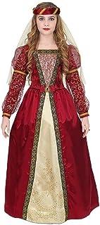 WIDMANN Srl disfraz Medieval de niña, Multicolor, wdm07338