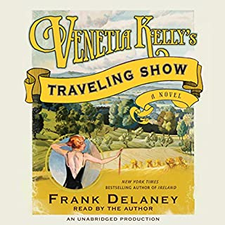 Venetia Kelly's Traveling Show audiobook cover art