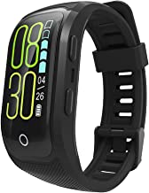 ZRHEART 【Newest Version】 Fitness Tracker Watch IP68 Waterproof Fitness Band with Heart Rate Sleep Monitor Color Screen GPS Watch iOS Android Activity Tracker for Swimming
