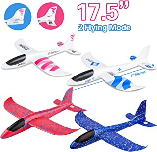 4 Pack Airplane Toy, 17.5