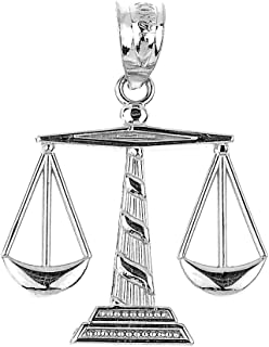 justice pendant