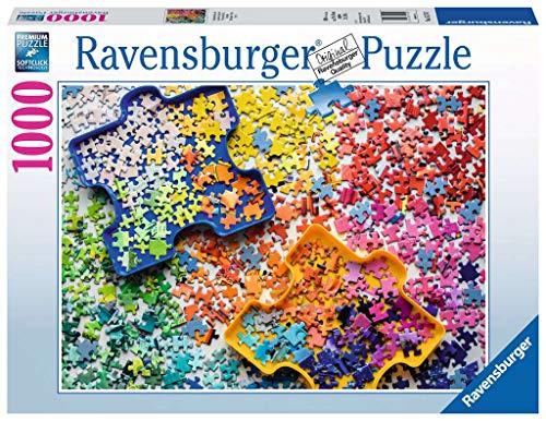 Ravensburger 15274 Viele bunte Puzzleteile 1000 Teile Puzzle