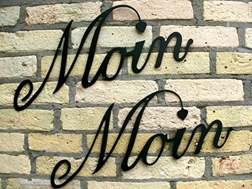 ----------MOIN------MOIN----------1 PAAR, 2 Stück------