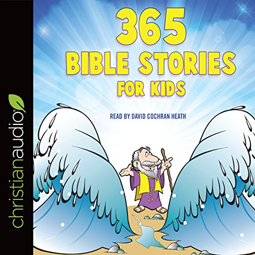 365 Bible Stories for Kids audiobook cover art