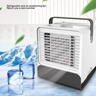 Mini Personal Air Conditioner Fan,FOONEE Portable USB Evaporative Air Cooler, Purifier-Humidifier-Circulator-Desktop-Cooling Fan, Cold Air Circulator For Office Dorm Car School Personal Space
