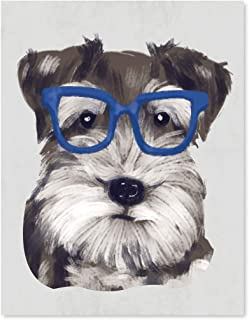 Best schnauzer art print Reviews