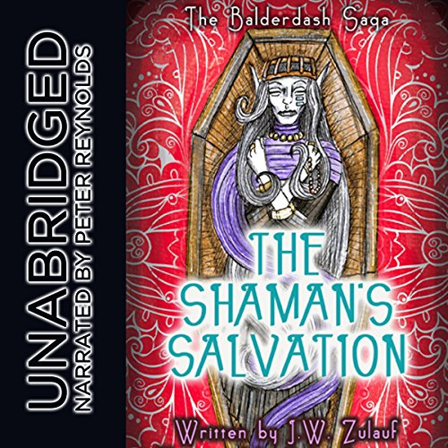 The Shaman's Salvation audiobook cover art
