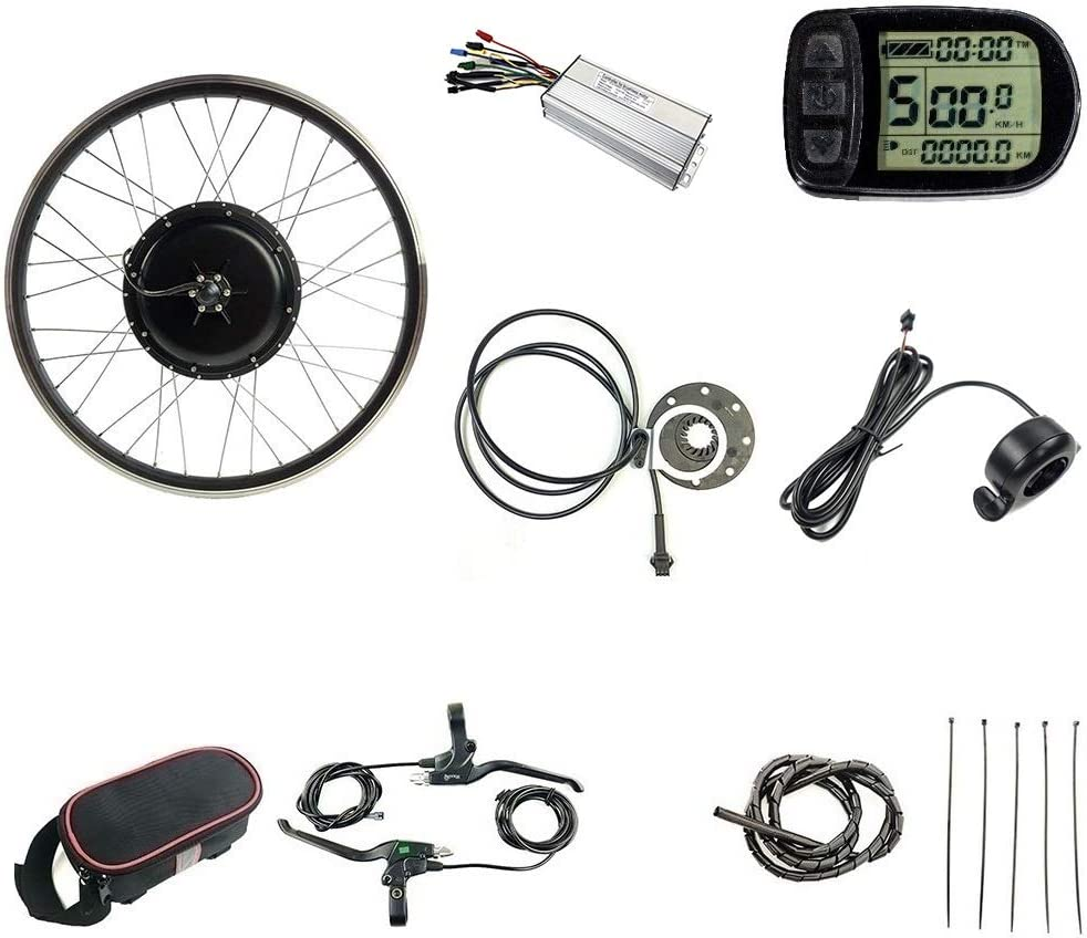 SCHUCK 48V1500W Limited Special Price Electric Bike Conversion 70% OFF Outlet kit 20 26