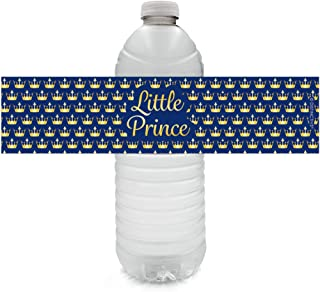 little prince water bottle labels