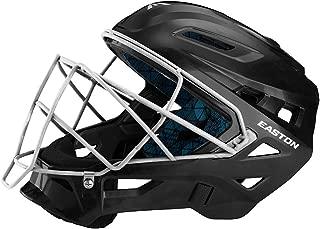 EASTON GAMETIME Baseball Catchers Helmet   Matte Color   2020   High Impact Resistant ABS Shell   Shock Absorbing Foam   Moisture Wicking BIODRI liner   Ergo Chin Cup   Steel Cage   NOCSAE Approved