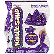 Kinetic Sand, 1lb Shimmering Purple Amethyst Magic Sand for Ages 3 and Up