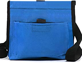 Wellbro Dog Treat Pouch, Handy Pet Training Waist Bag with Fast Spring Hinge and Front Pocket, Easy to Carry Treats and Toys, for Rapid Reward to Pets Blue unknown