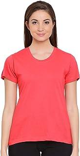 Clovia Women's Cotton Rich Sleep T-Shirt
