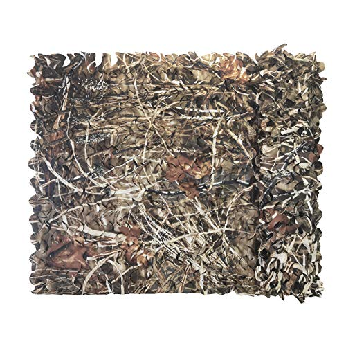 Senmortar Camo Netting Camouflage Net Military Nets Dry Grass Camo Bulk Roll for Sunshade Decoration Hunting Blind Shooting 5 x 6.56 FT