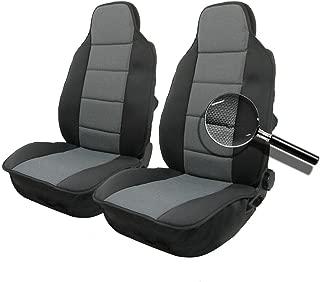 2 Sitzauflagen Sitzkissen Sitzauflage Autositzauflage Sitzauflieger Schwarz