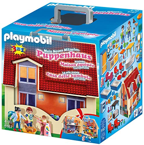 Playmobil maison transportable