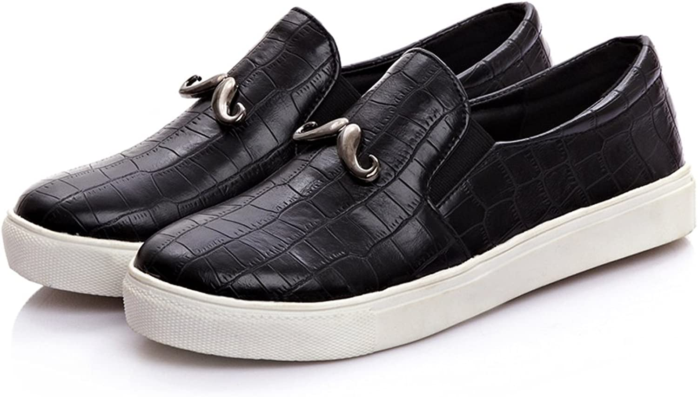 DolphinGirl Women Black Fashion Glitter Slip-On Loafer shoes Vacation Platform Loafer Shiny Bling Comfy Moustache CY00453